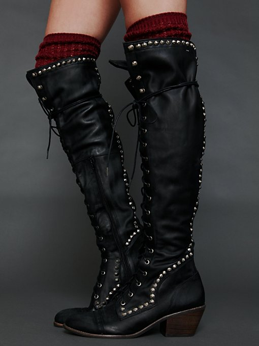 Studded Joe Tall Boot