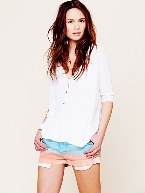 Maison Scotch Faded Short in cutoff-shorts