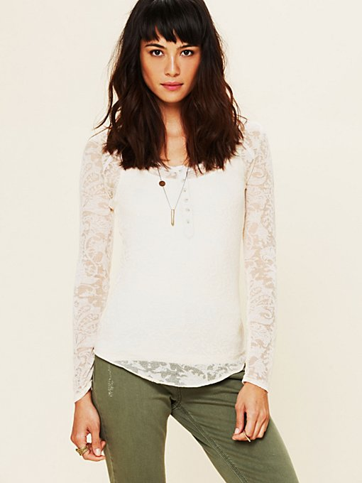 Burnout Henley in sale-sale-intimates