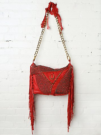 Cecilia De Bucourt Harrow Studded Hobo