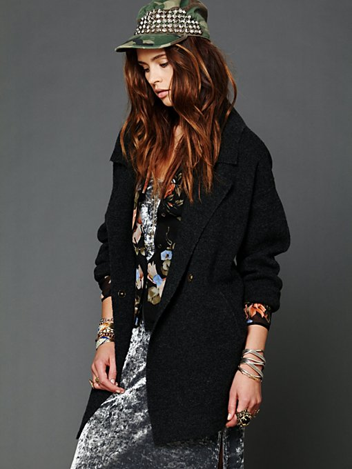 Slouchy Sweater Jacket
