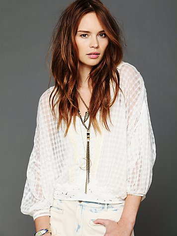 Free People FP New Romantics Neverland Blouse