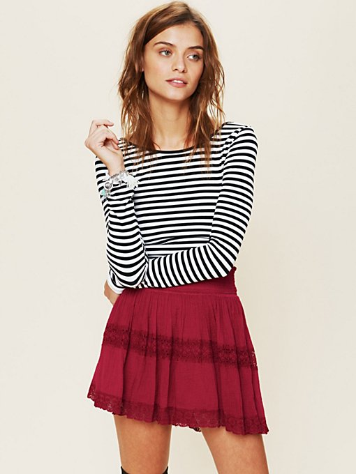 FP ONE Penelope Slip in clothes-skirts-mini