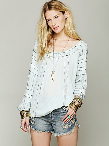 Beaded Wavelengths Tunic