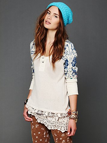 Free People Cozy Time Tunic