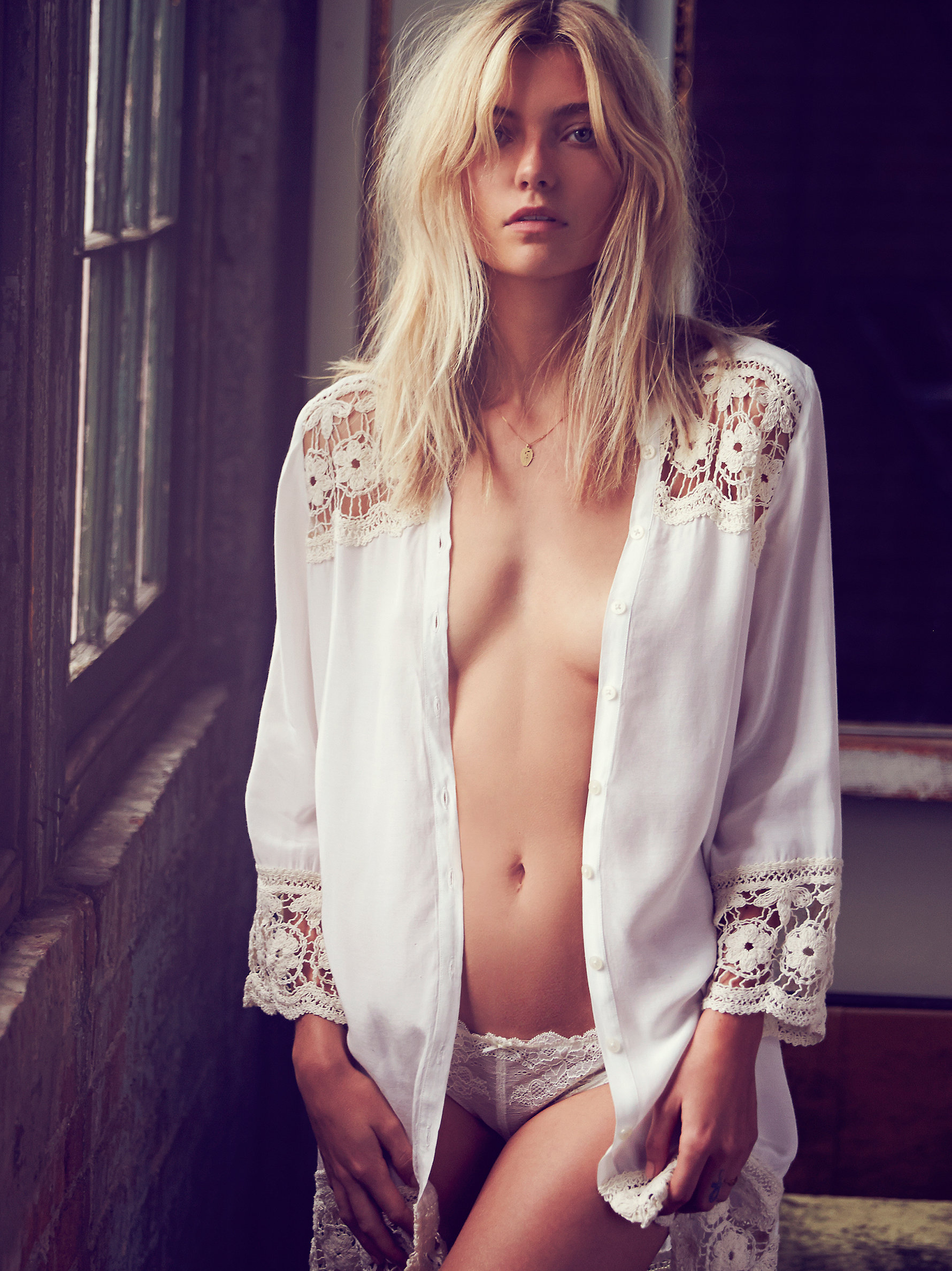 Free People Night Shirt