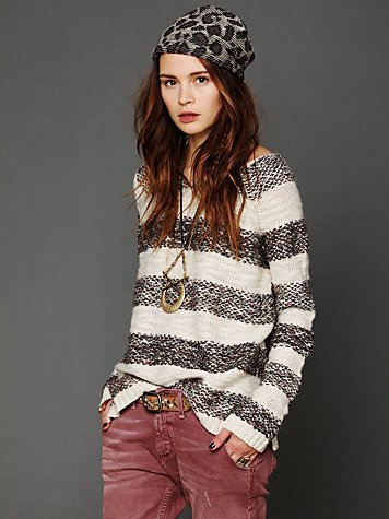 Free People Three Spinners Pullover
