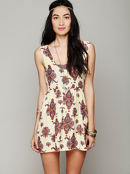 One Teaspoon Peace Train Cali Dress in Day-Dresses