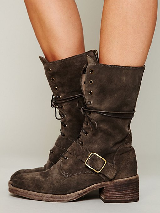 Legion Lace Mid Boot in Walking-in-a-Winter-Wonderland