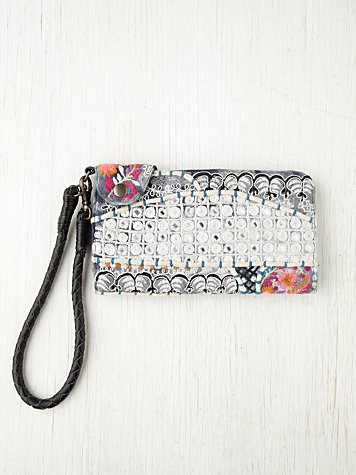 Free People Monroe Embellished Wallet