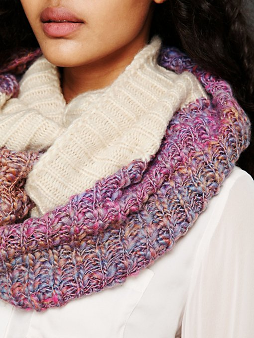 Loop Knit Eternity Scarf