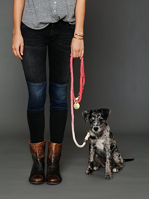 Overdyed Rope Leash in The-Perfect-Present