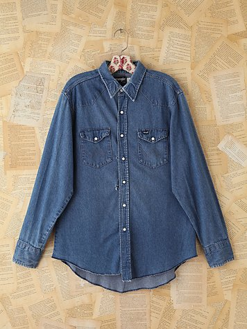 Vintage Wrangler Denim Shirt