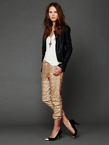 Sequin Party Pant