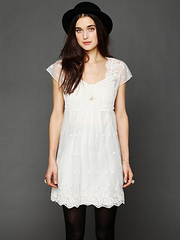 Free People Golden Slumbers Dress