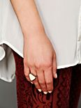 Enamel Triangle Ring
