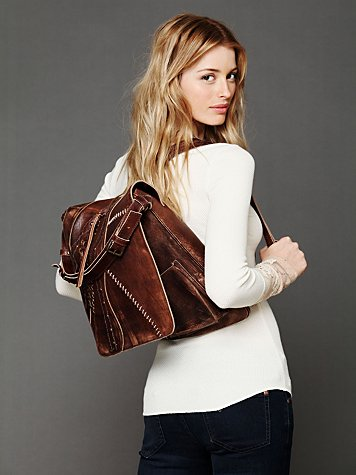 Leather Corset Backpack