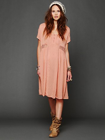 Free People Roomy Romantic Dress