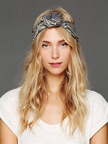 Free People Animal Lurex Wire Tie