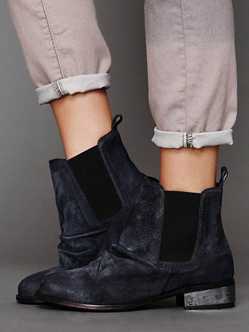 Free People Mota Metal Ankle Boot in Boots