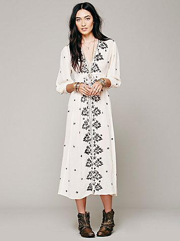 Sale alerts for  Embroidered Fable Dress - Covvet