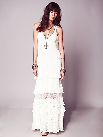 Free People Kristal's Limited Edition White Dress