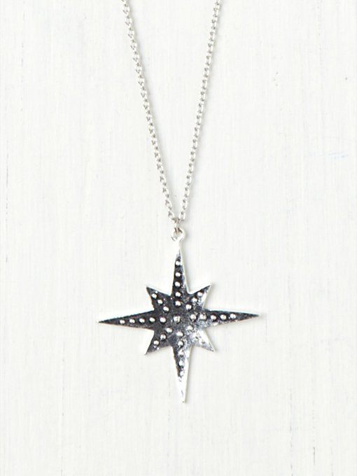 Free People Solid Supernova Pendant in pendants