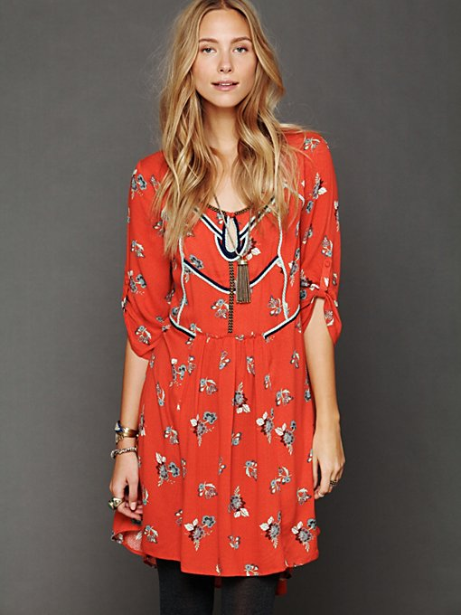Free People Perfect Day Dress in Shift-Dresses