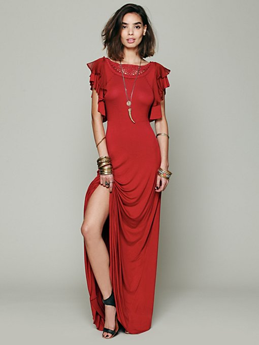 Free People FP X Film Noir Dress in maxi-dresses