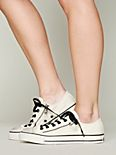 Low Top Double Zip Chucks