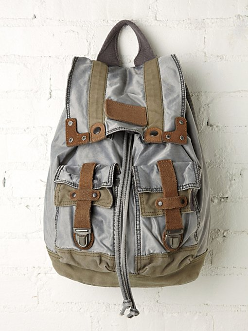 Old Trend Washed Backpack in Bags-Wallets