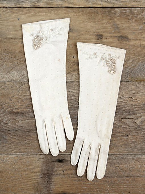 Vintage Beaded Gloves in vintage-loves-other
