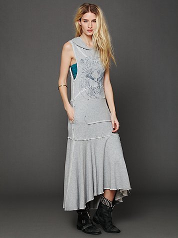 Free People Graphic Heavyweight Maxi