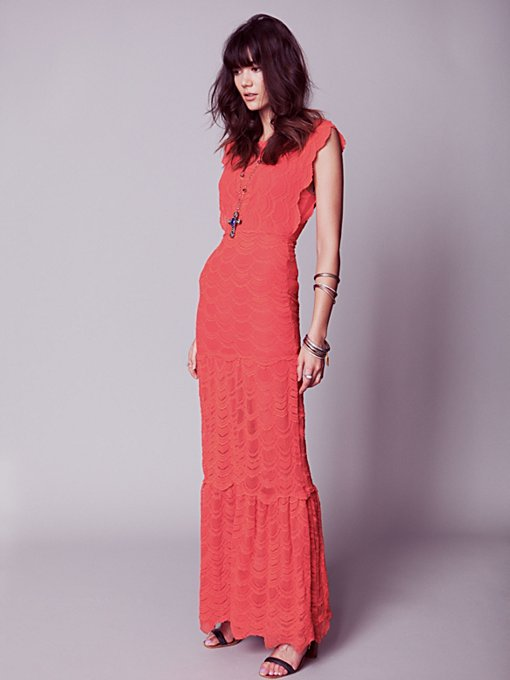 Caletto Maxi Dress in clothes-dresses-maxi