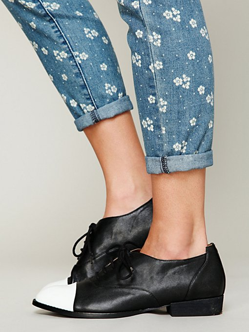 Matisse Ryker Cap Toe Oxford in flats