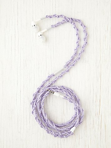 Metallic Yarn Ear Phones