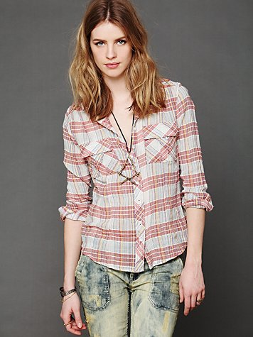 Free People Midwest Buttondown