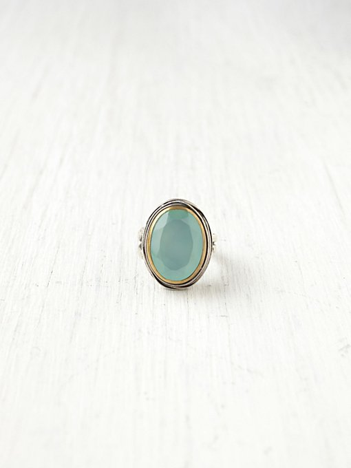 Bora Seafoam Stone Ring in jewelry