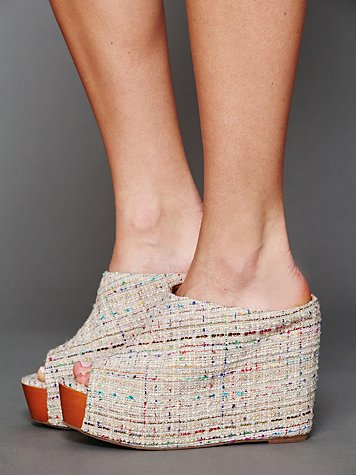 Jeffrey Campbell Amanda Mule Wedge