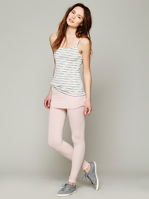 Nightcap Jersey Foldover Legging in Yoga-Clothes