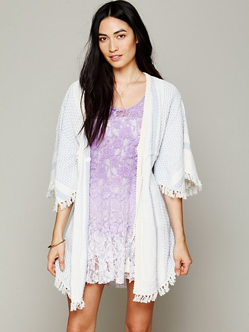 Staci Woo for Free People Kaftan Robe in Kimonos