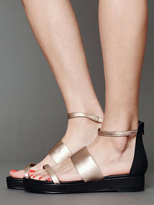 Jeffrey Campbell + Free People Rosie Sandal in wedge-sandals