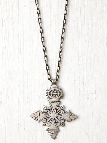 Angel Court Large Ethnic Pendant