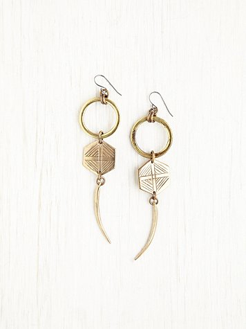 Gods Eye Dangle Earrings