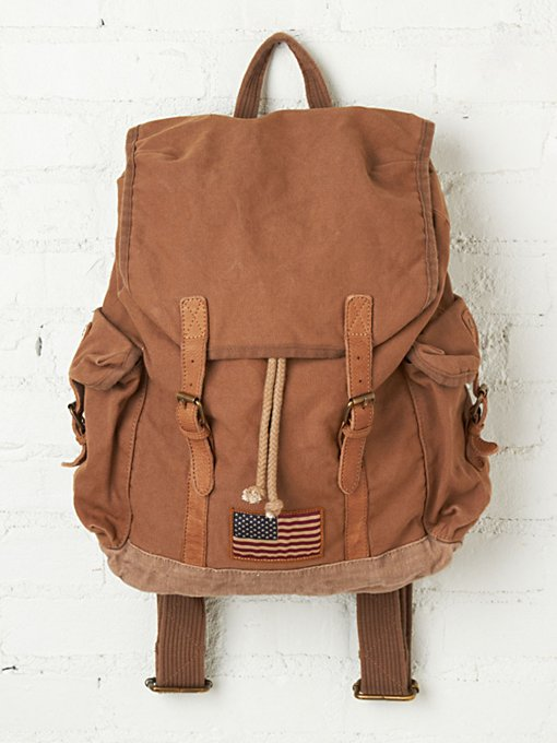 Barbour Steve McQueen Collection Backpack in accessories-bags-shop-by-shape