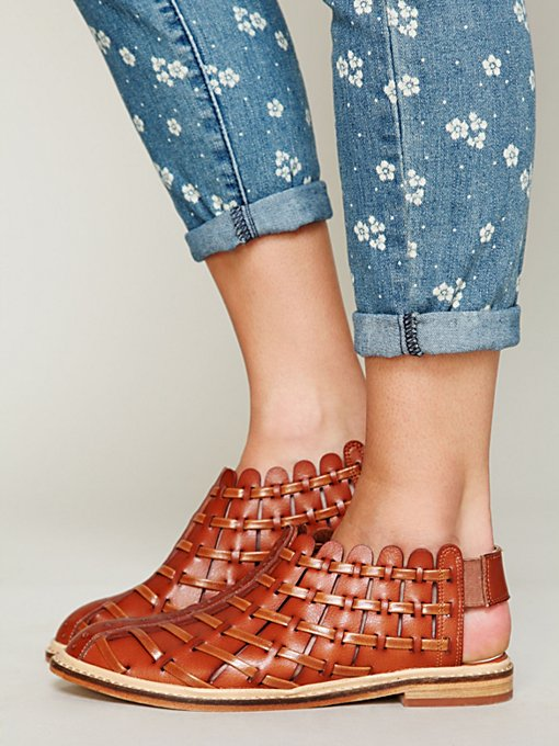 Coastal Woven Sandal in shoes-sandals