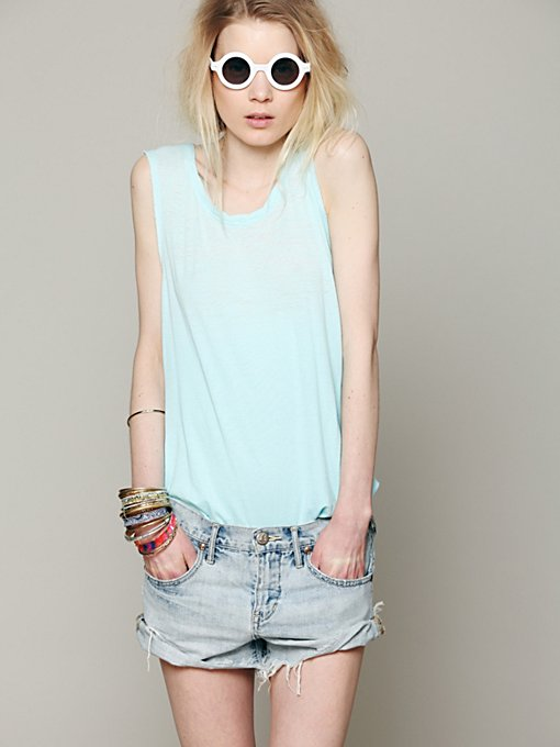 Free People We The Free Ombre Burnout Tank in camisole-tops