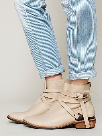 Blazer Wrap Ankle Boot