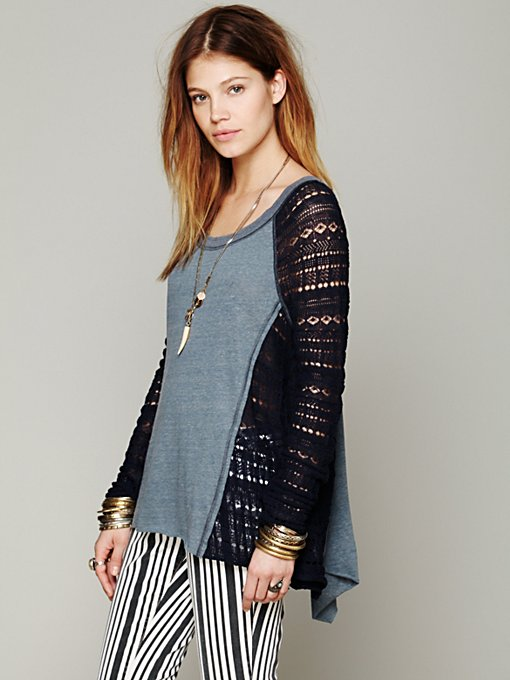 Free People Time After Time Swit in knit-tops