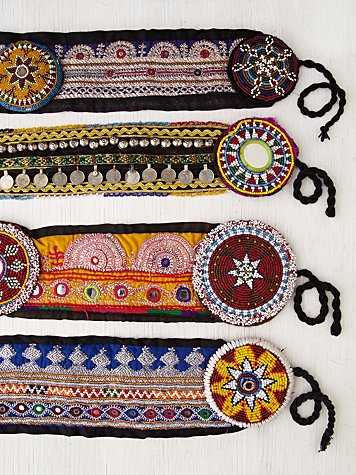 Lotus Tapestry Belt